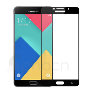 Image 4 - 9D Full Protective Glass on For Samsung Galaxy A3 A5 A7 2016 2017 A6 A8 Plus A9 2018 Tempered Screen Protector Glass Film Case