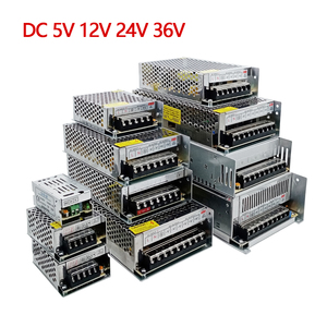 AC DC 5V 12V 24V 36V 48V Power Supply 5 12 24 36 V Volt AC DC 220V TO 5V 12V Swihing Power Supply 24V SMPS 1A 3A 5A 10A 20A 30A