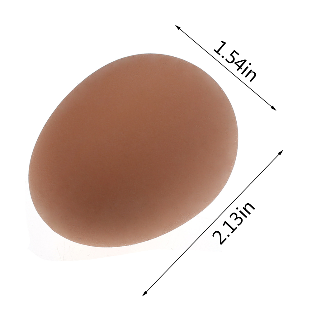 1 Pcs Novelty Bouncy Eggs Realistic Fake Rubber Bouncing Balls Pet Toy Prank Joke Toy