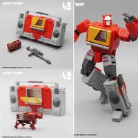 Nuevo modelo MFT Transformation MF49 MF-49 grabador de chorro modo Pocket War Mini figura de acción Robot juguetes con caja