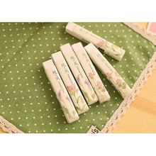 1pcs/lot Chinese style Pure Strip Rubber eraser Gift Stationery Learning For Kid  School Rubber eraser 1pcs lot kid watch