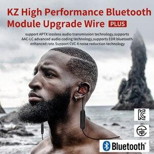 Image 5 - KZ Waterproof Aptx Bluetooth Module 4.2 Wireless Upgrade Cable Cord Applies Original Headphones ZS10AS10ZSTZS6ZSNProAS16ZS10Pro