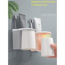 LEDFRE Einfachen Magnetischen Mundwasser Tasse für Paare Mundwasser Zahnbürste Tasse LF71002