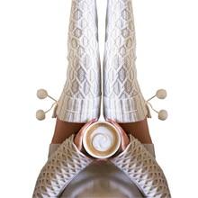 Jaysosin/женские носки выше колена; теплые однотонные носки для обуви; гетры; Calcetines Hombre Divertido; чулки