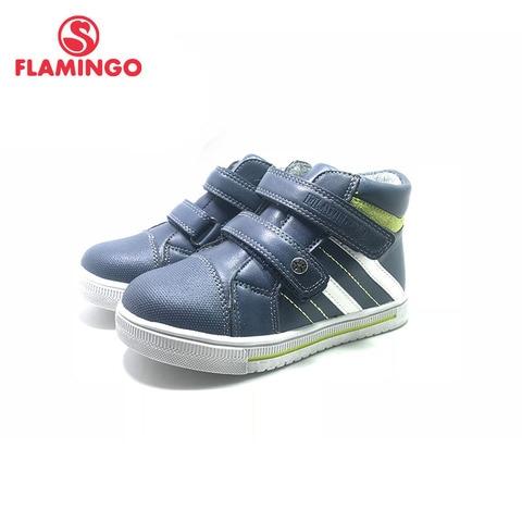 flamingo outono meninos botas sapato tornozelo alta qualidade sapatas dos miudos das criancas com hook