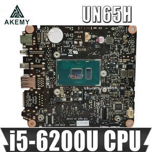 ¡Akemy nuevo! Placa base UN65H para For Asus VivoMini UN65H UN65 UN65h-m008H, ordenador Vivo, Mianboard con CPU i5-6200U