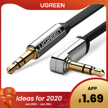 Ugreen Cable AUX Jack de 3,5mm Cable de audio de 3,5mm Jack Cable de altavoz JBL para auriculares coche Xiaomi Redmi 5 Plus Oneplus 5t Cable AUX(China)