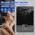 220 В 6500 Вт Электрический водонагреватель мгновенный проточный водонагреватель для ванной комнаты Душ многоцелевой бытовой водонагревател...