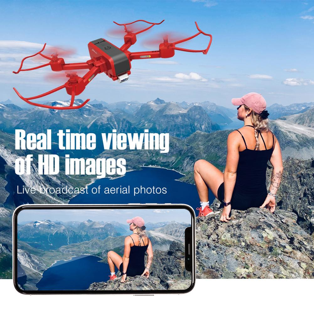 New Dual Camera Profissional Drone WIFI RC Quadcopter Drone with 720P 1080P 4k Camera Live Video Automatic Return Dual HD Camera