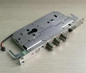 Электронный замок с отпечатком пальца, корпус замка с защитой от кражи 6068, корпус дверного замка 5 В, моторный клатч 12 В, клатч с электромагни...