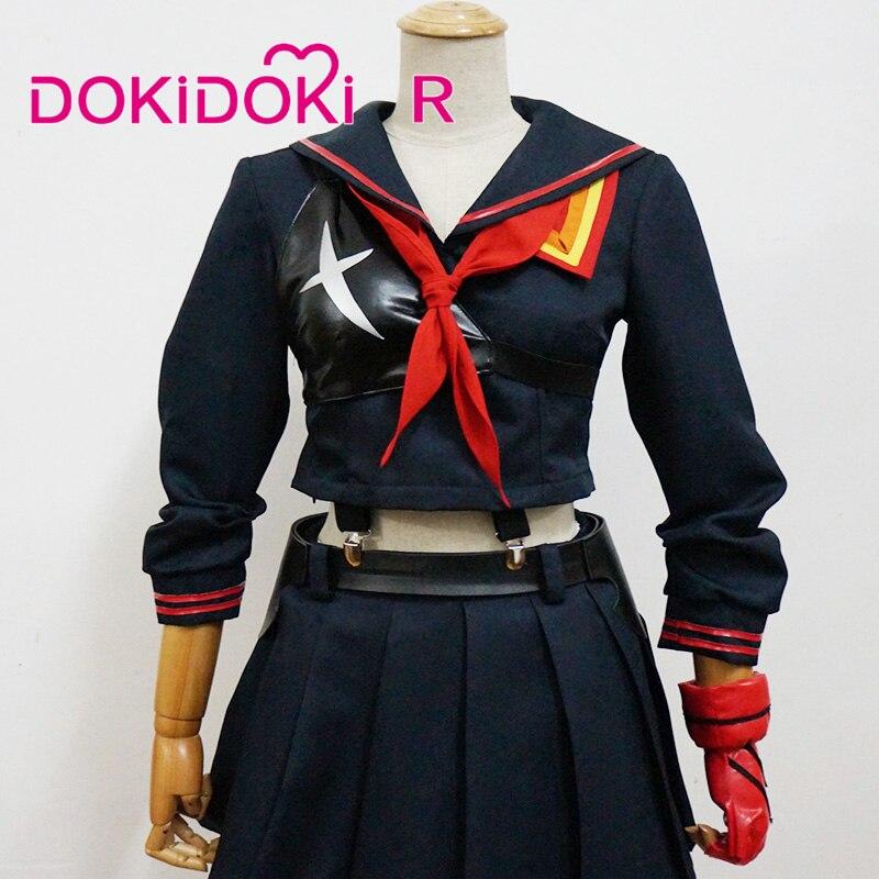 Женский костюм из аниме «KILL la KILL» DokiDoki-R, маскарадный костюм из аниме «KILL la KILL», платье для девочек из аниме «KILL la KILL»