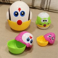 Educational Toys Eggs Nesting Dolls for Toddler, Preschool Learning Stacking Toys for Baby Girls and Boys