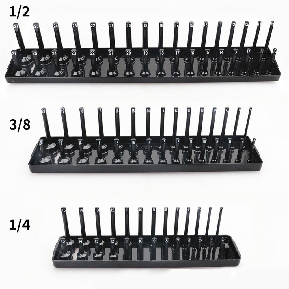 3 Pcs/set High Pole Socket Organizer Socket Tray Rack Holder Multi-functional Sleeve Bracket Tool Organizer