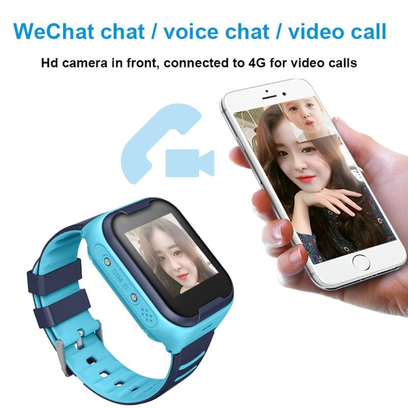 GPS montre SOS montre enfants téléphone montre Wifi étanche vidéo appel Smartwatch 1.4 pouces enfants horloge intelligente caméra bébé montre pk d8 - 6