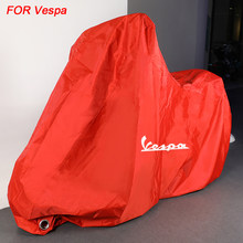 Cubierta impermeable para motocicleta, tienda para VESPA GTS300 GTS250 GTS 250 300 2013-2017 2018 2019 2020, al aire libre, px lx primavera 150
