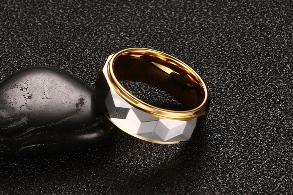 Mens Tungsten steel Rings wedding bands 110