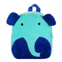 Aelicy Fashion Kids Backpacks Boys Girls Fashion Cute Cartoon 3D Animal Shoulder Backpack Bags Backpack Schoolbag For Girls cheap Flock Softback Soft Handle ANIMALS zipper Packet Animal Prints solid backpack women backpack women school backpacks for school teenagers girls