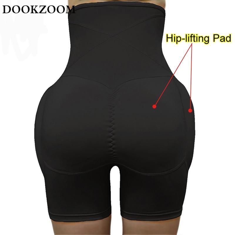 Fajas modeladoras cintura alta calcinha de controle de barriga coxa fina almofada de quadril cintura formador do corpo bunda levantador bumbum realçador