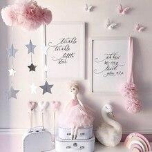 Сетка облако дети висячие украшения милое украшение в детскую комнату украшение для детской спальни новорожденные фотографии реквизит постельные принадлежности набор домашнего декора