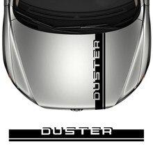 Capa do carro adesivo para dacia duster 4x2 4x4 1.0 tce 100 130 turbo gpl coletor preto prestige vinil filme capota decoração decalques