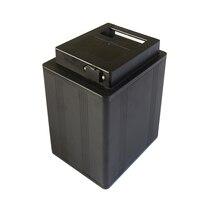 Hohe qualität 18650 batterie aluminium box mit ABS kunststoff abdeckung