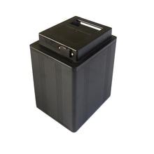 Yüksek kalite 18650 pil alüminyum kutu ABS plastik kapak