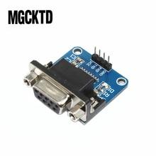 Megmoki 100 stücke MAX3232 RS232 zu TTL Serielle Port Converter Modul DB9 Stecker MAX232