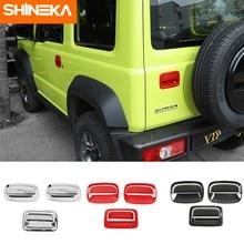 SHINEKA – autocollants de voiture pour Suzuki Jimny, couverture de décoration pour porte latérale et arrière, pour Suzuki Jimny 2019 2020, 6 pièces