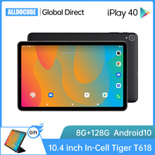 ALLDOCUBE iPlay40 Android 10 Tablet 10.4 inch Octa Core 8GB RAM 128GB ROM Tablets PC 4G lte 2K Fullview Screen LCD iPlay 40