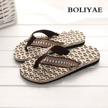 High Quality Summer Beach Slippers Men Flip Flops Beach Sandals Zapatos Hombre Casual Shoe Wholesale 9581