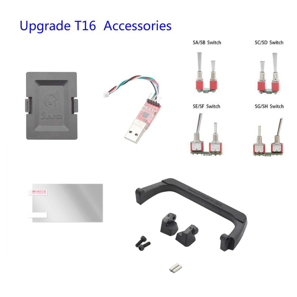 Upgrade Jumper T18 T16 / T16 Plus / T16 Pro V2 Radio Remote Controller Transmitter Accessories
