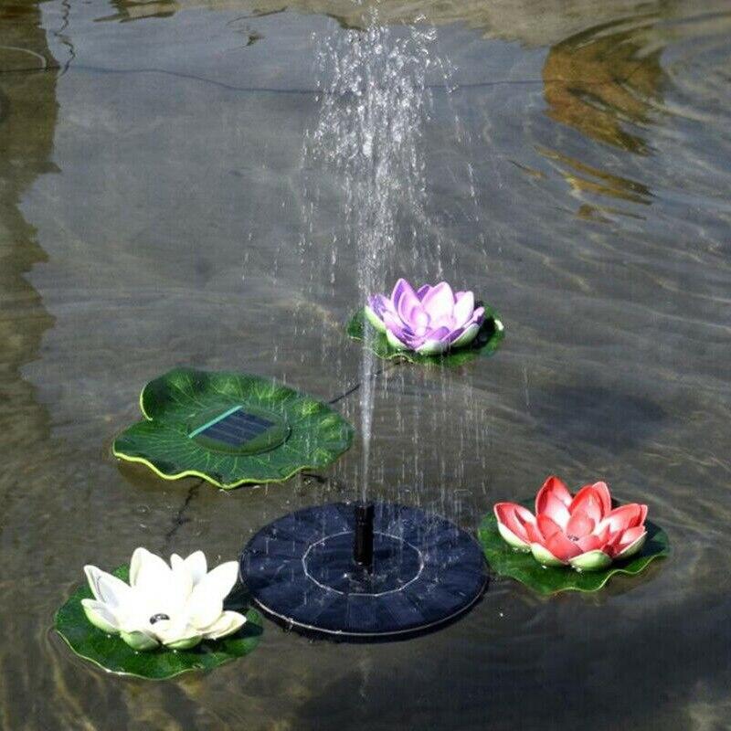 Mini Solar Brunnen Solar Wasser Brunnen Pumpe Für Garten Pool Teich Bewässerung Outdoor solar Panel Pumpen Kit 210L/h