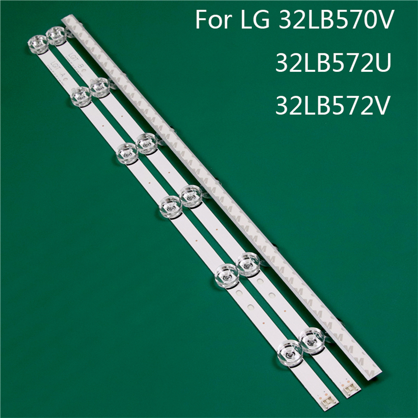 LED TV Illumination Part Replacement For LG 32LB570V-ZB 32LB572U-ZP 32LB572V-ZP LED Bar Backlight Strip Line Ruler DRT3.0 32 A B