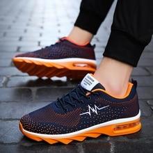 Exclusive Brand Men Casual Shoes YOUQIJIA Hot Sale 38-45 Men Sneakers Orange Red Black