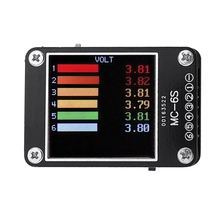 цена на MC-6S 1-6S Lipo Battery Voltage Checker Receiver Signal Tester For Check S-Bus PPM PWM And DSM Voltage Tester Drone Accessory 01
