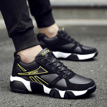 Leader Show Couple Sports Shoes Air Mesh Rubber Lace-up Trend Sneaker For Man