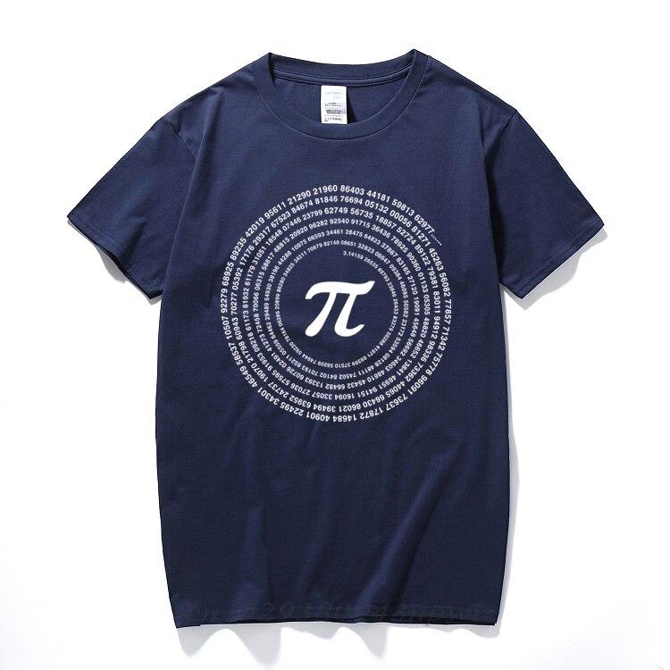 RAEEK Новинка Pi математические футболки мужские хлопковые свободные футболки с коротким рукавом Стильная футболка в стиле Geek повседневные му...