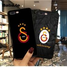 купить Babaite Turkey Galatasaray Popular Custom TPU Phone 11pro max Cover for Apple iPhone 5 5S SE 6 6S Plus 7 8 X XS MAX XR Cover по цене 42.34 рублей