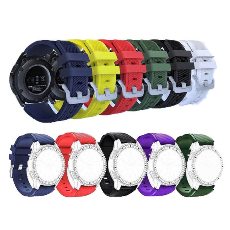 Correa para Samsung Galaxy watch 3, 45mm/41/active 2 gear S3 Frontier/huawei watch gt 2e/2/amazfit bip/gts Strap 20/22mm