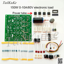 Potencia de carga electrónica LM324, 150W, Kit de carga Electrónica Simple, 72V2A/15V10A, diseñador electrónico