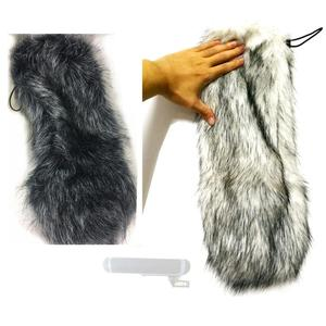 Image 1 - Outdoor Furry Windscreen Windshield Cover Muff for Sennheiser MKH416 P48U3 Microphone Blimp Kit MKH416 MKH 416 Mic Deadcat