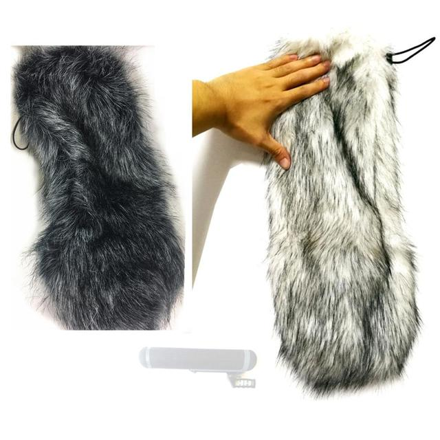 Outdoor Furry Windscreen Windshield Cover Muff for Sennheiser MKH416 P48U3 Microphone Blimp Kit MKH416 MKH 416 Mic Deadcat