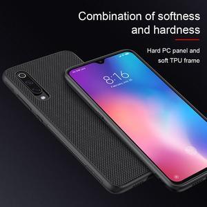 Image 3 - for Xiaomi Mi 9 case nylon fiber cover, original NILLKIN 3D textured case for Xiaomi Mi 9 mobile phone soft edge coque on