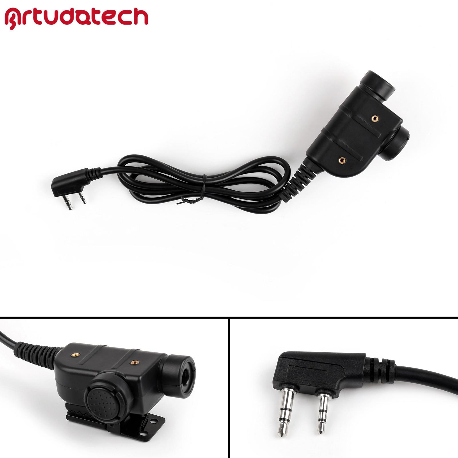 Artudatech Z-TAC Z125 Silynx Releases Chest U94 PTT For Kenwood Communication Headset For IASUS UHF Transceiver Pro Radio