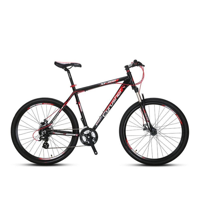 CYRUSHER XF300 Mountain Bike 24 Speed Shifting Gears 27.5' Tyre 19 Inch Aluminum Alloy Frame Fork Suspension MTB Bicycle image