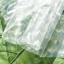 1.8 * 1.8m 3D Thickening Bathroom Transparent 3D Water Cube EVA Shower Curtain Environmental Waterproof