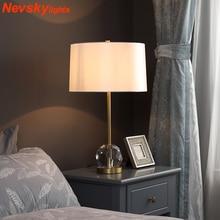 Desk Table Lamp crystal K9 home lights decor table lights bulb lamp modern home decoration table