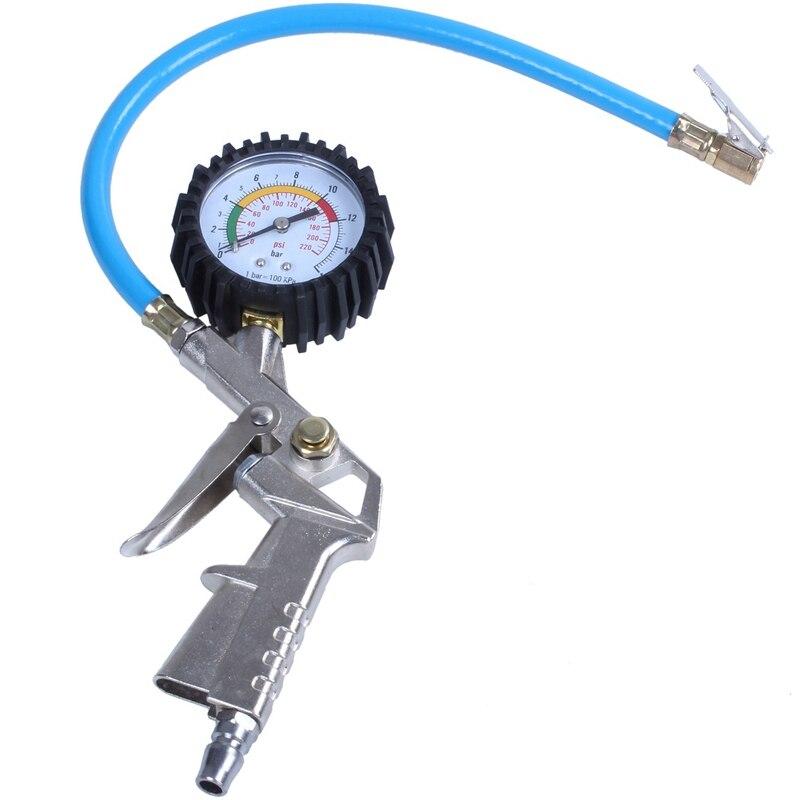 van carro caminhao linha 220psi discagem inflator medidor medidor de pressao do compressor de ar dos