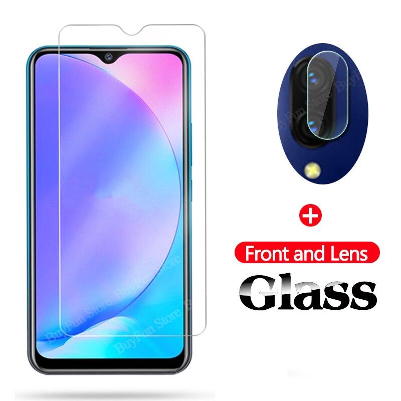 2 In 1 Camera Lens Glass For Vivo Y12 Y17 Tempered Glas Screen Protector For VIVO IQOO Neo SI V11 V11i Protective Glass Film