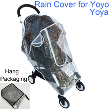 Yoyo impermeable accesorios de cochecito de bebé cubierta de lluvia cubierta impermeable para Babyzen Yoyo Yoya Babytime Babysing de seguridad Material EVA